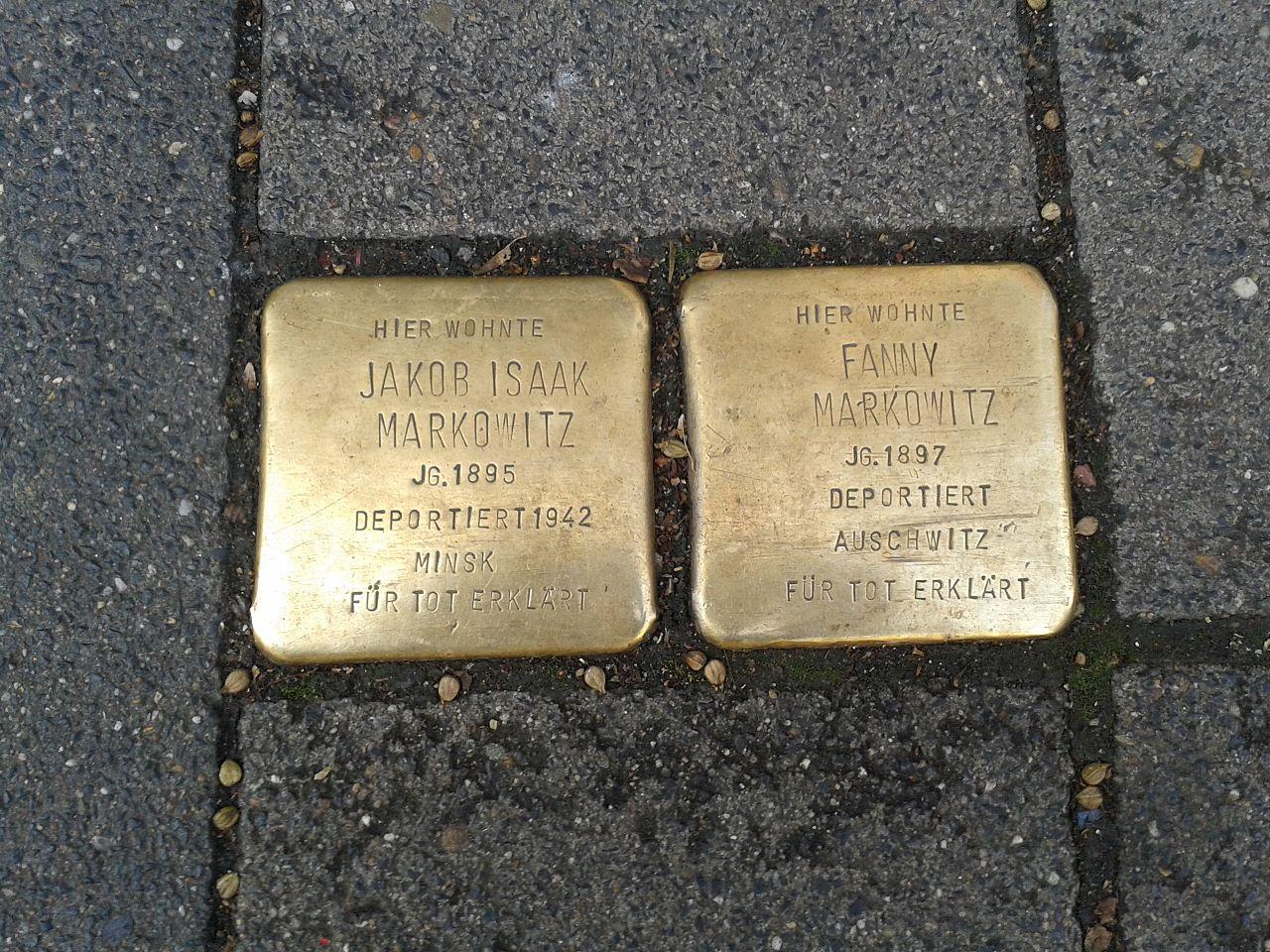 Stolpersteine Köln Keupstraße 48