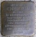 Stolpersteine Krefeld, Heinrich Plum (Lohstraße 58).jpg