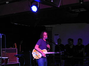Stone Gossard - Gossard playing with Brad in Manchester, England on February 8, 2013