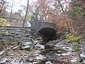 Stone Arch Bridge over McCormick's Creek, eastern side from southeast, distant.jpg