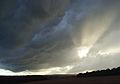 Stormy skies above Bagnor - geograph.org.uk - 926820.jpg