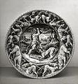 Stradanus - Dish with Hercules Overcoming Cerberus - Walters 481330.jpg