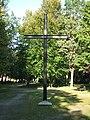 Stralsund, Germany, Zentralfriedhof, Kreuz im Kriegsgräberhain (2006-09-25).JPG
