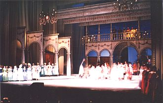 Polish opera -  The Haunted Manor by Stanisław Moniuszko performed at the Grand Theatre in Warsaw on September 22, 1966