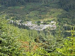 The village of Strathyre