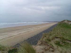 Francisco de Cuellar - Streedagh Beach, Sligo, where Francisco De Cuéllar was shipwrecked