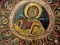 Sts. Theodore Tyron & Theodore Stratelates in Dobarsko Pantokrator Fresco.jpg