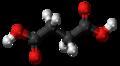 Succinic acid 3D ball.png