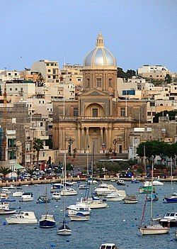 The church of Kalkara