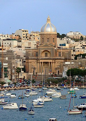 Kalkara - The church of Kalkara