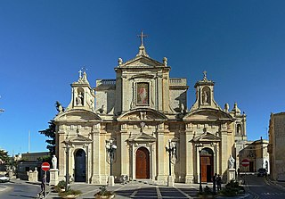 Church in Rabat, Malta