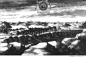 Battle of Strömstad - Strömstad in the beginning of the 18th century