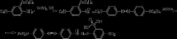 Схема синтеза сульфарсазена