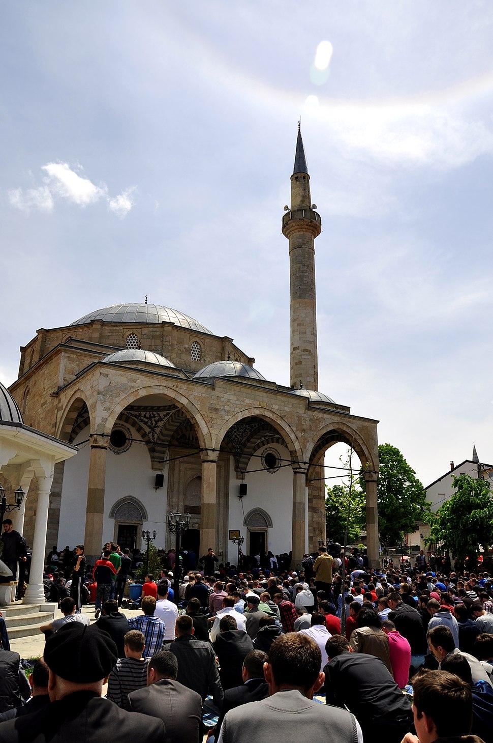 Sultan Murat Fatih mosque, Prishtina Kosovo