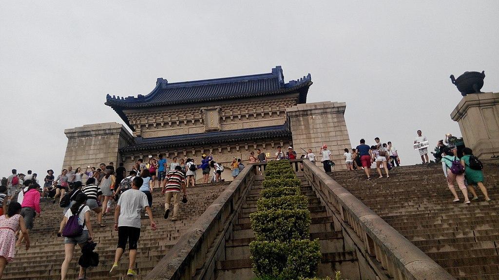Sun Yat-sen Mausoleum, August 2016