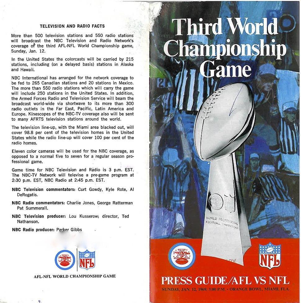 Super Bowl media guide