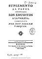 Suplemento al papel intitulado los eruditos a la violeta 1772.jpg