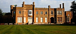 Cheam - Image: Surrey, The Mansion House, Nonsuch Park geograph.org.uk 1733012