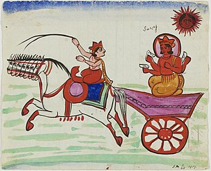Surya in his chariot.jpg