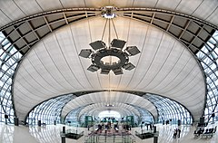 Suvarnabhumi Airport (New) Bangkok International Airport