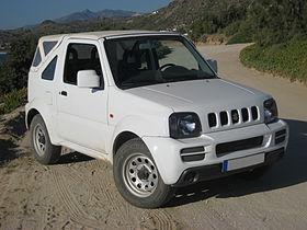 voiture 4×4 suzuki jimny