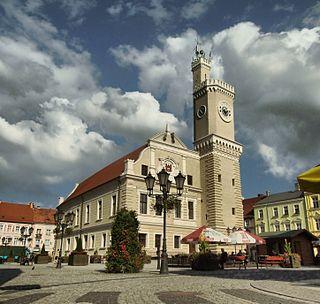 Świebodzin Place in Lubusz, Poland