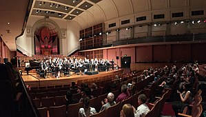 Sydney University Wind Orchestra and Verbrugghen Hall.jpg