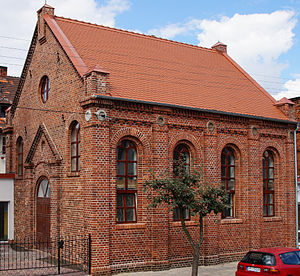 Wyrzysk - Local synagogue