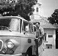 Szentendre 1975, Barkas postajármű. Fortepan 60563.jpg