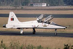 103 Squadron (Portugal) - Former T-38 Talon of the 103 Squadron