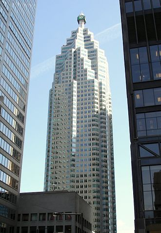Toronto-Dominion Bank - TD Canada Trust Tower in Downtown Toronto that houses the corporate offices of TDBFG