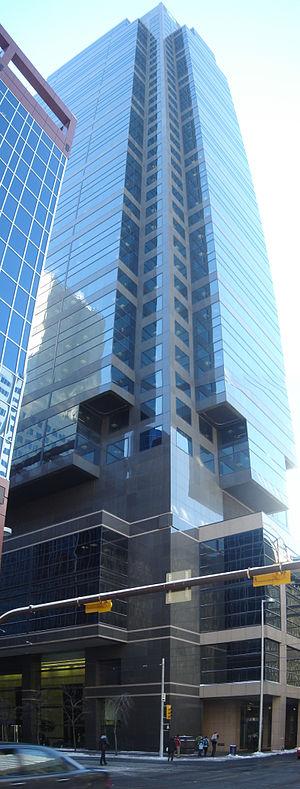 TD Canada Trust Tower, Calgary - Image: TD Canada tower Calgary