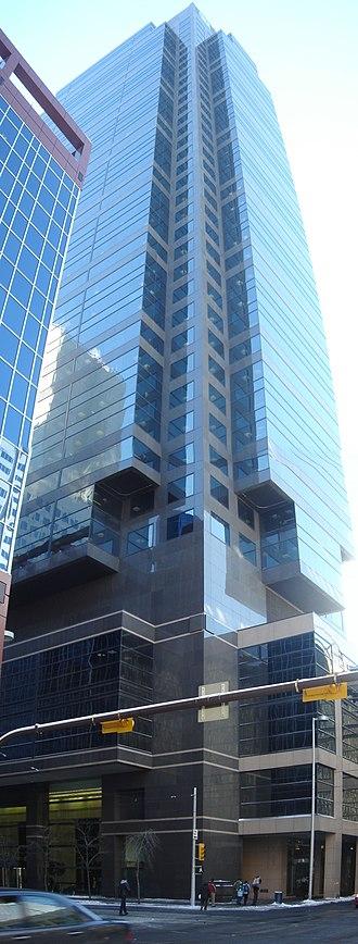 TD Canada Trust Tower (Calgary) - Image: TD Canada tower Calgary