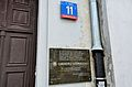Tablica Order Usmiechu ul. Zgoda 11 w Warszawie.JPG