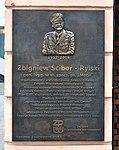 Tablica Zbigniew Ścibor-Rylski ul. Długa 22 w Warszawie.jpg