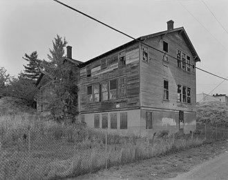 Nihongo Gakko (Tacoma) - Nihon Go Gakko before it was demolished