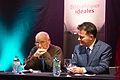 Tahar Ben Jelloun et Fouad Laroui Strasbourg Bibliothèques idéales 21 sept 2013.jpg
