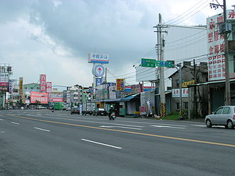 Pingtung City - Image: Taiwan Main Road 3 Tail