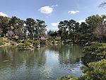 Takueichi Pond in Shukkei Garden 16.jpg