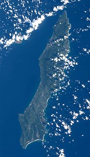 Tanegashima island in Kagoshima, Japan