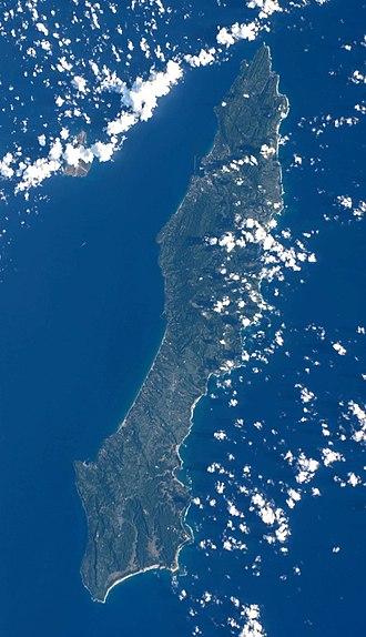 Ōsumi Islands - Image: Tanegashima ISS048