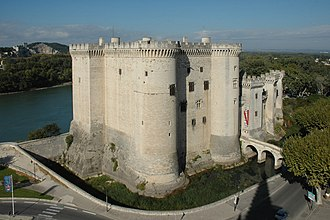History of Provence - The Chateau of Good King René, the last ruler of Provence, in Tarascon (15th century)