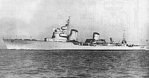 Tashkent-class destroyer - Image: Tashkent 01