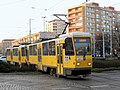 Tatra T6A2D 251+252, tram line 11, Szczecin, 2020 01.jpg