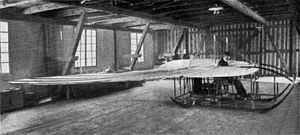 Etrich Taube - The Etrich-Wels glider prototype, with Igo Etrich in the cockpit