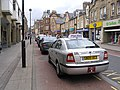 Taxi rank in Channel Street, Galashiels - geograph.org.uk - 501500.jpg