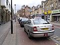 Taxi rank in Channel Street, Galashiels - geograph.org.uk - 501500.jpg