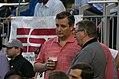 Ted Cruz at the 2017 Congressional Baseball Game (35332669296).jpg