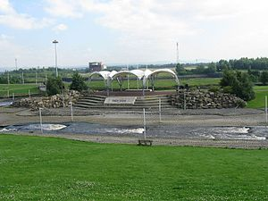 Tees Barrage International White Water Course