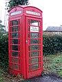 Telephone box, Witchampton - geograph.org.uk - 1149287.jpg